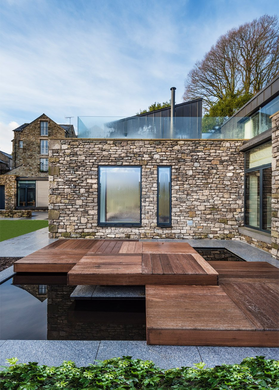Residential Architecture: Stone and zinc house in Cumbria, England by Bennetts Associates