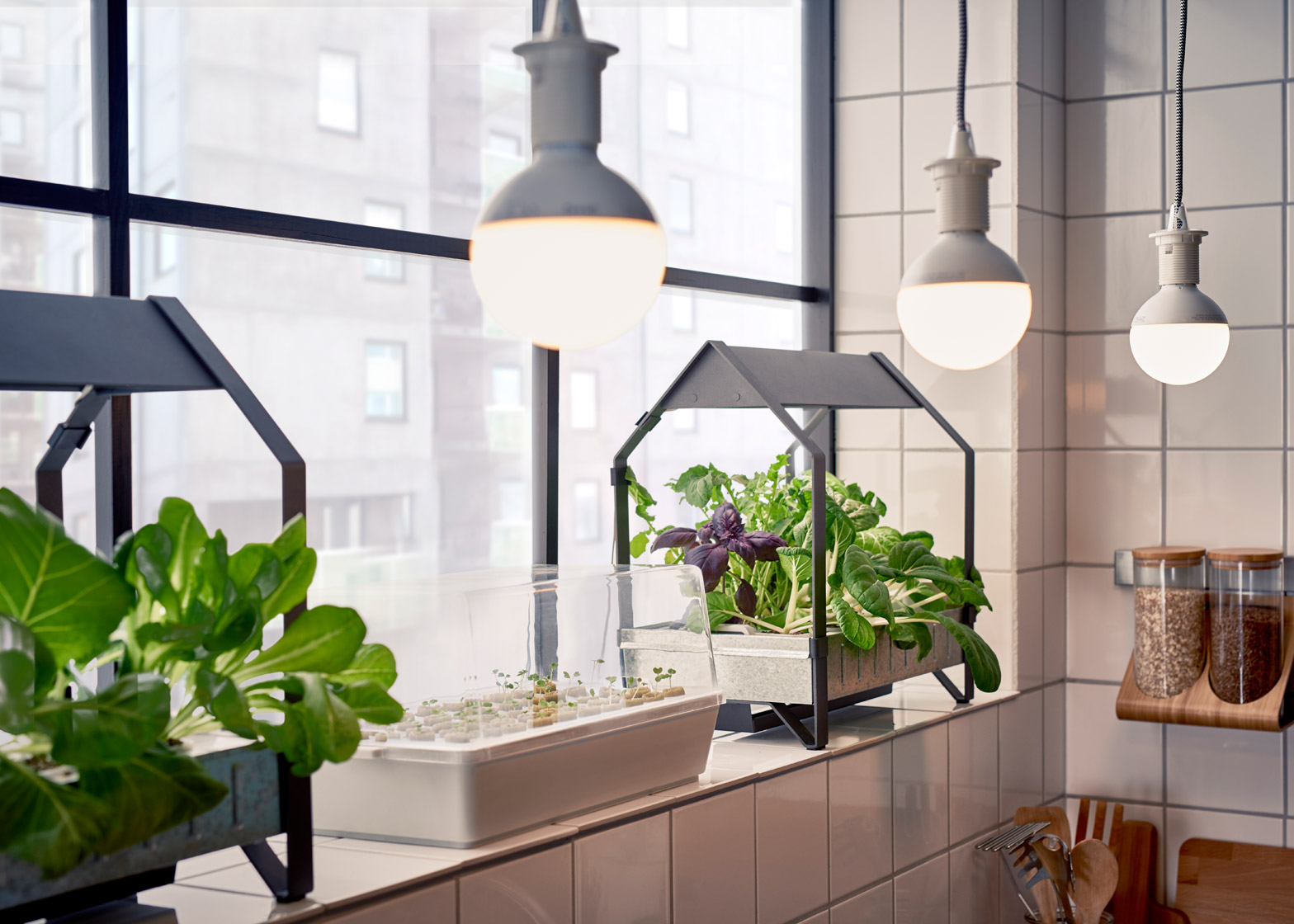 Ikea introduce a hydroponic indoor gardening kit