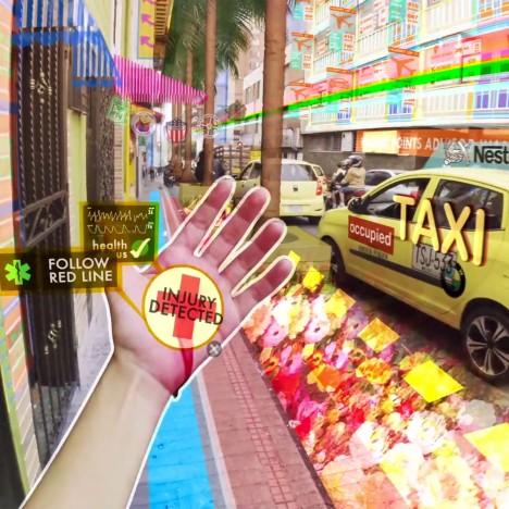 Keiichi Matsuda's Hyper-Reality film blurs real and virtual worlds