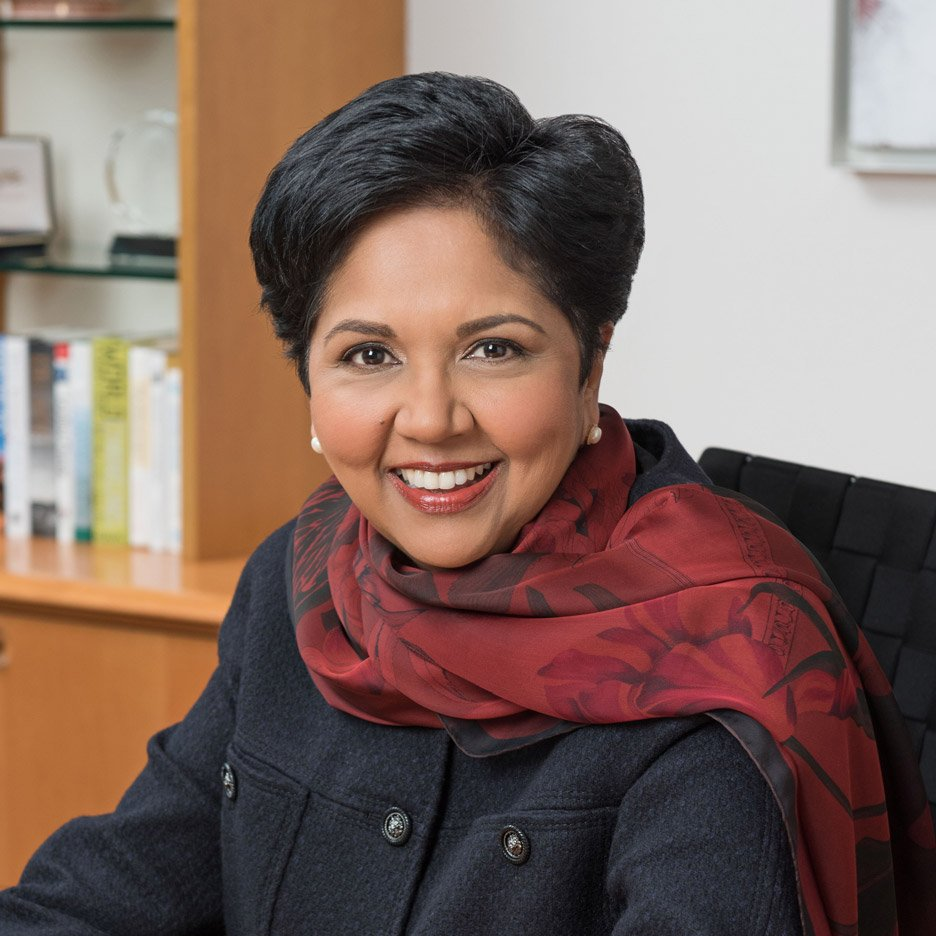 Indra Nooyi, CEO of PepsiCo