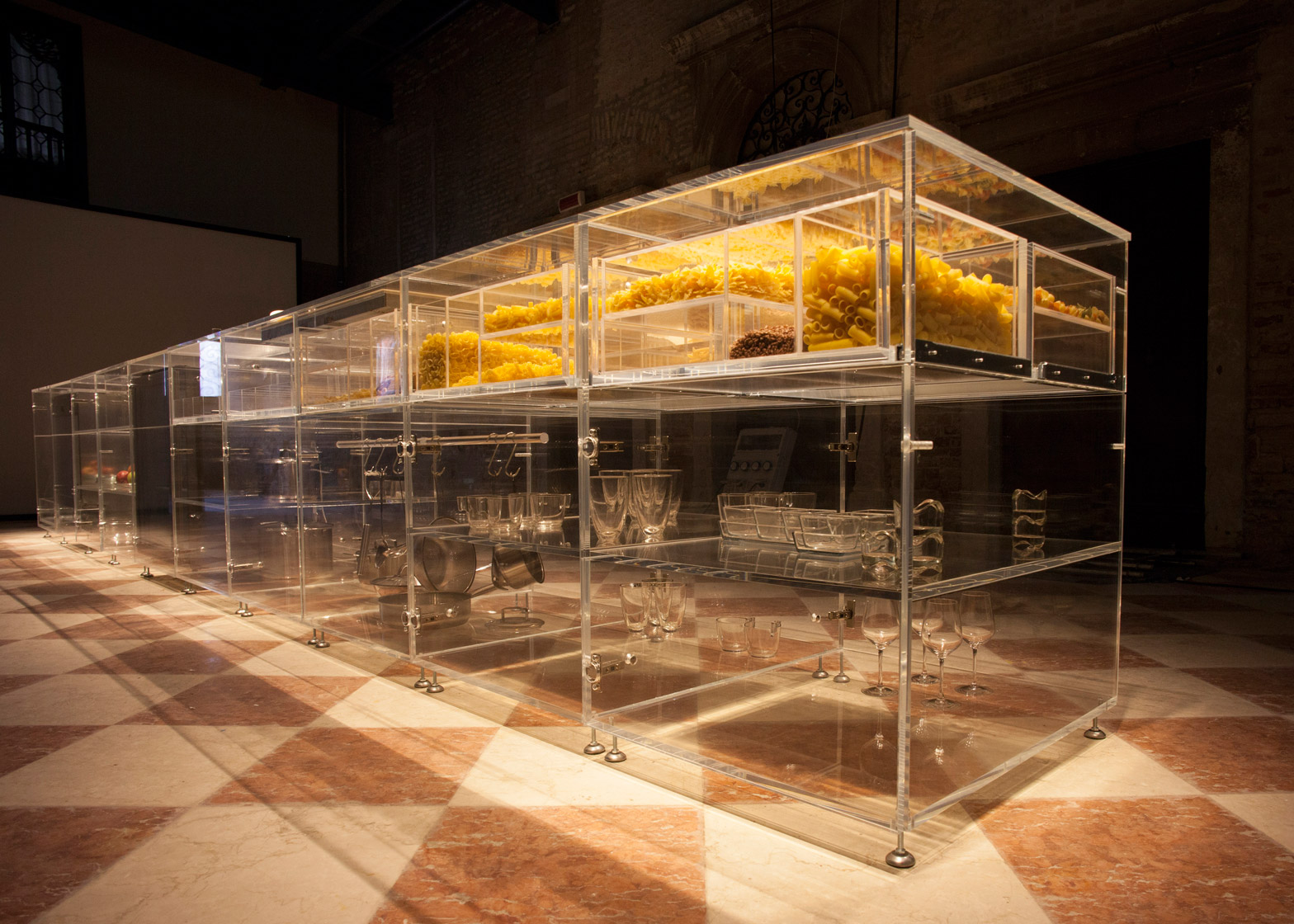 mvrdv designs transparent kitchen to make food sexier