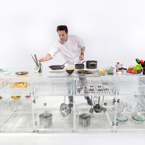 MVRDV designs transparent Infinity Kitchen to make food healthier and sexier