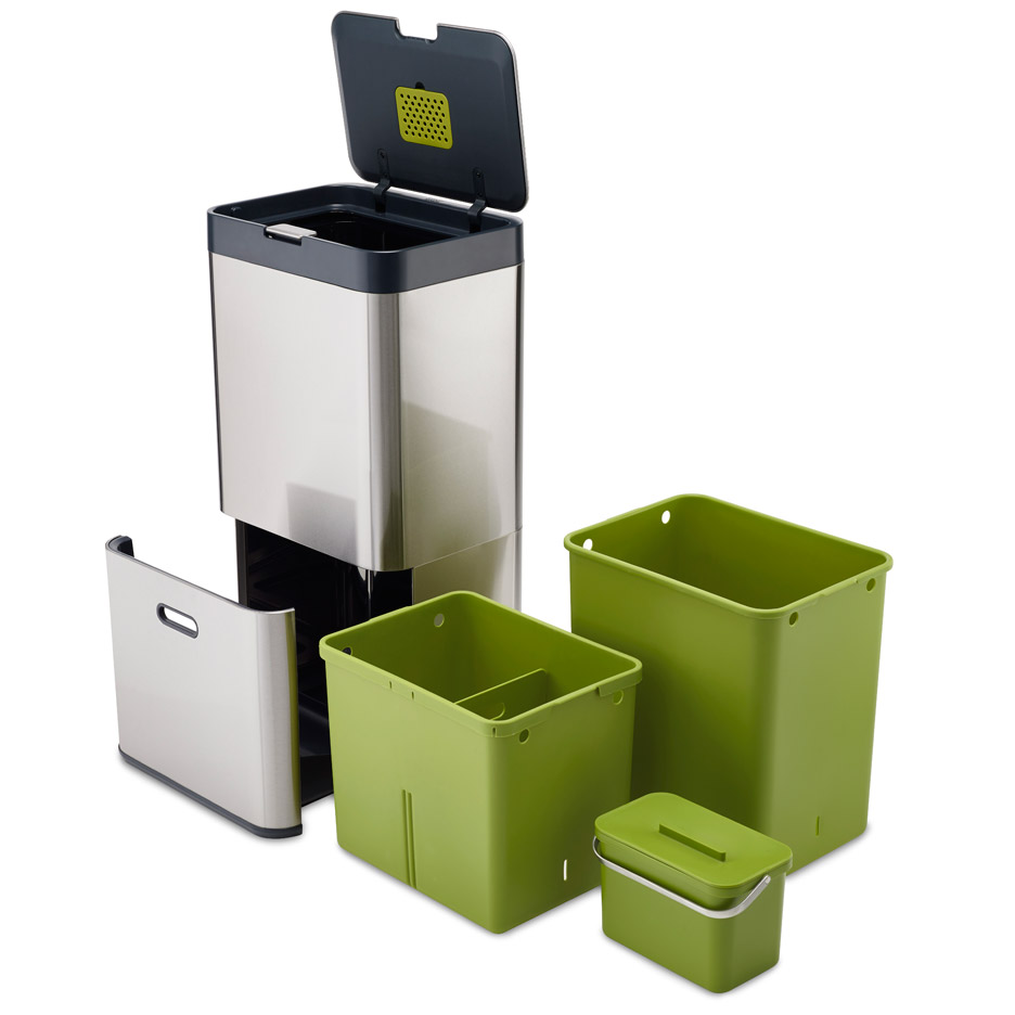 PearsonLloyd and Joseph Joseph\'s Intelligent Waste bins for home ...