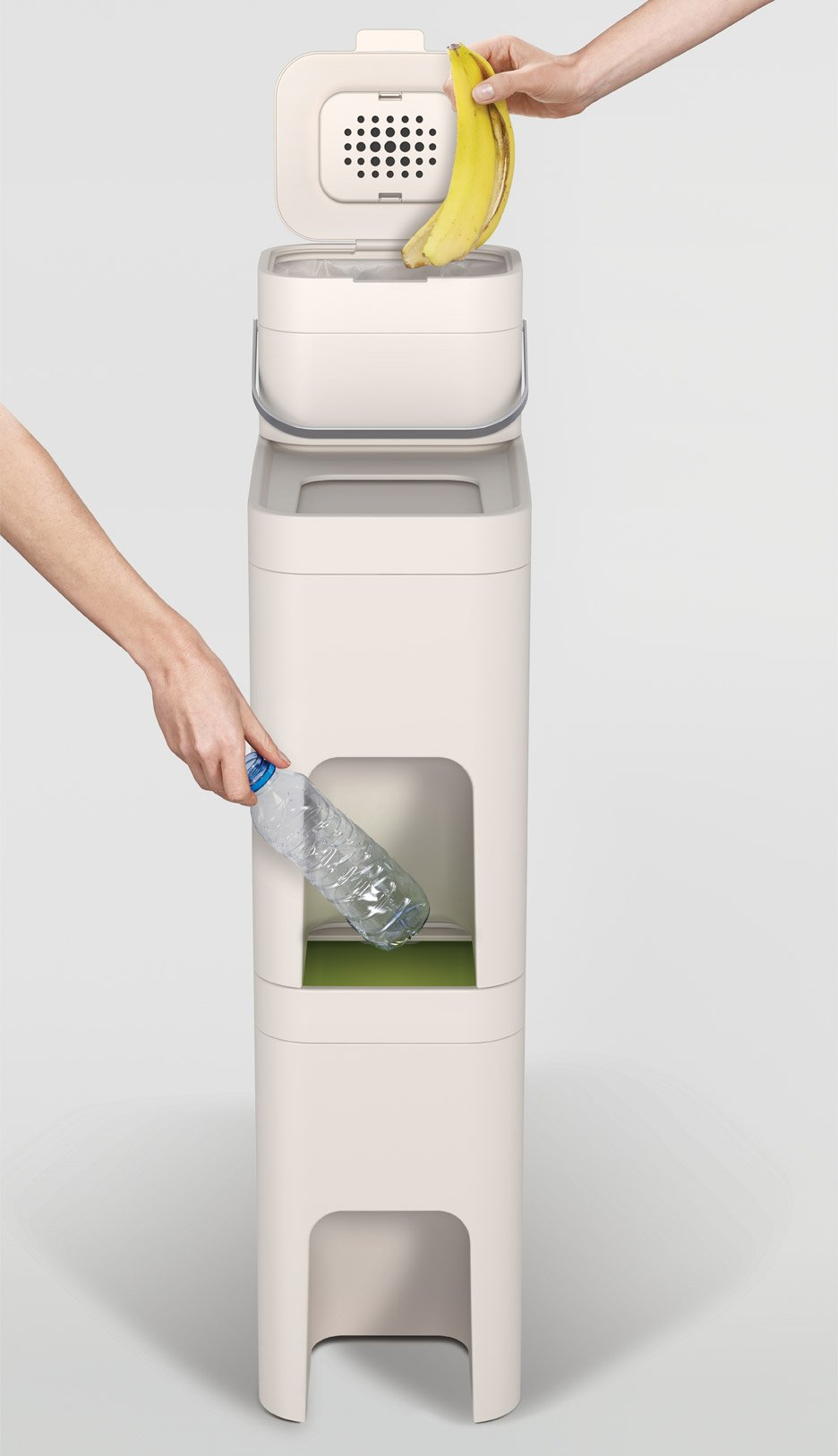 Stack waste bin designed by PearsonLloyd for Joseph Joseph