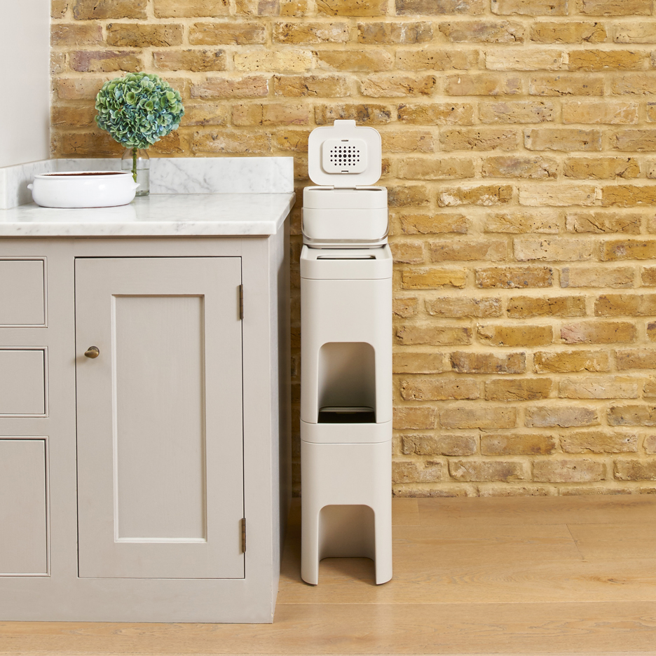 PearsonLloyd's Intelligent Waste bins for Joseph Joseph aim to clean up home recycling