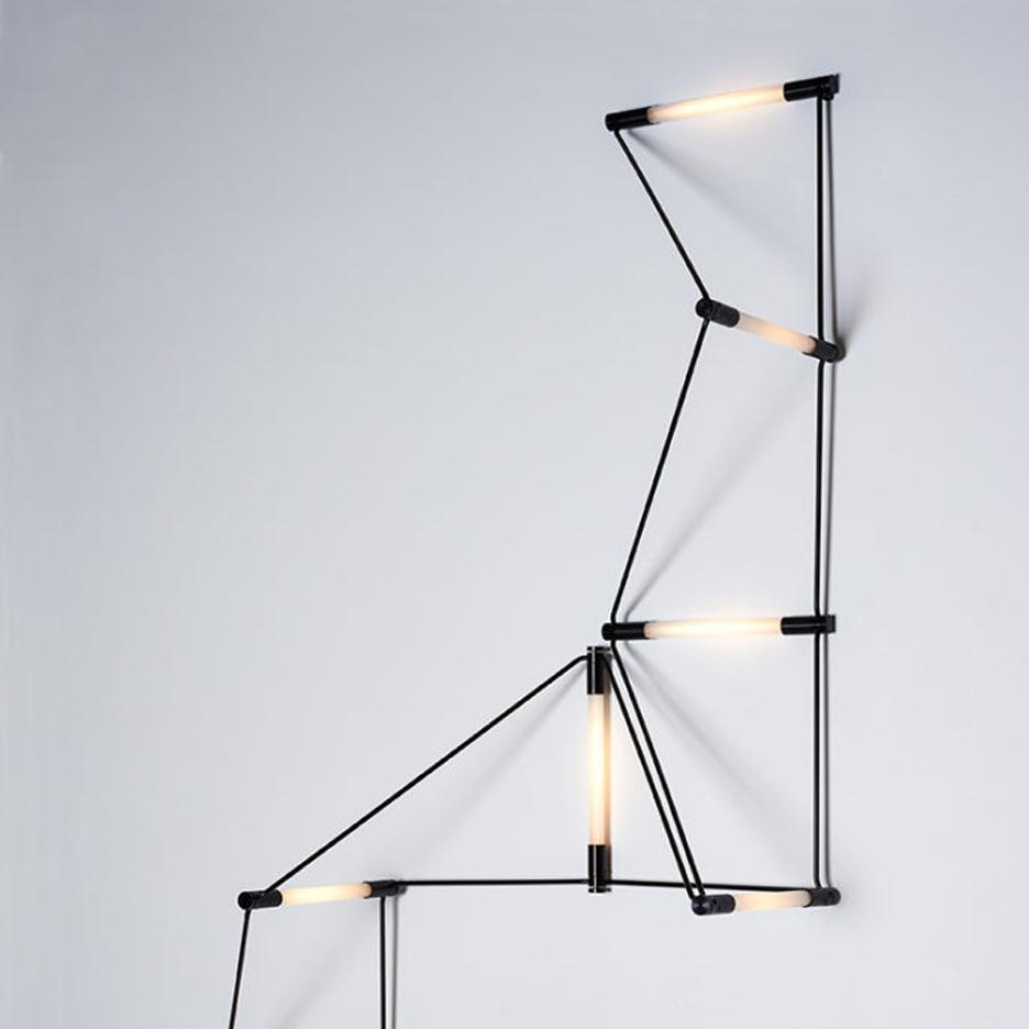 eight shining examples of lighting from new yorks icff 2016 british lighting designers