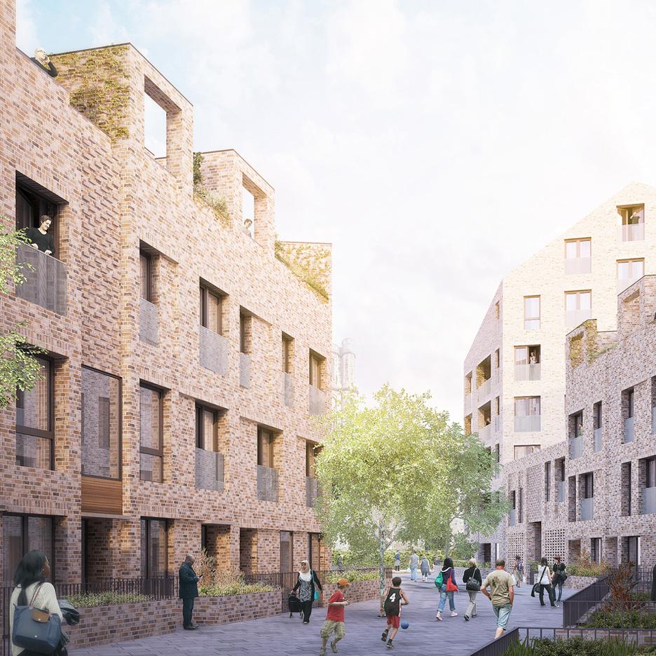 The Bacton Estate by Karakusevic Carson Architects