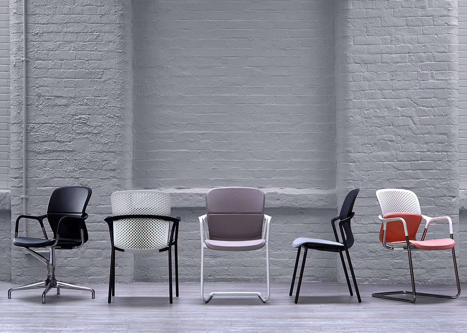 Keyn office chairs for Herman Miller by forpeople at Clerkenwell design week 2016