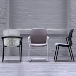 Forpeople's Keyn office chairs for Herman Miller are made for fidgeters