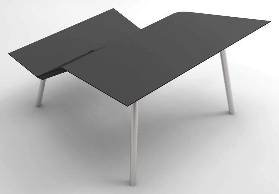 The Last Writing Desk Designed By Frans Willigers Is A Chair And Hybrid