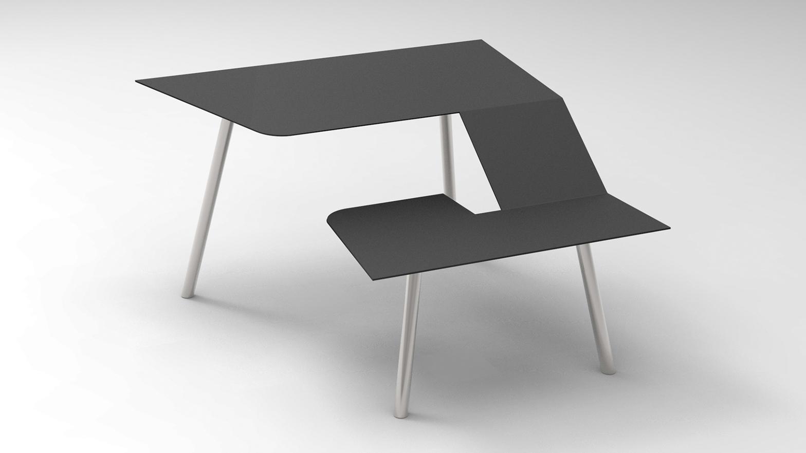 frans willigers addresses useless work furniture with hybrid desk