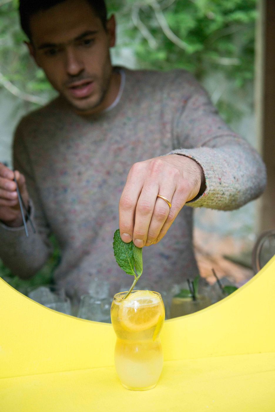 Lemonade Glass by Max Lamb