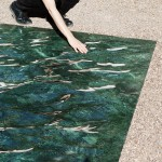 Mathieu Lehanneur creates pool of marble for French chateau