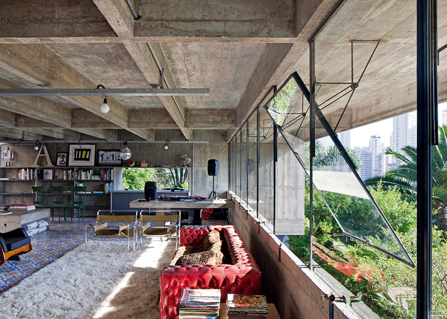 Masetti House, São Paulo, Brazil