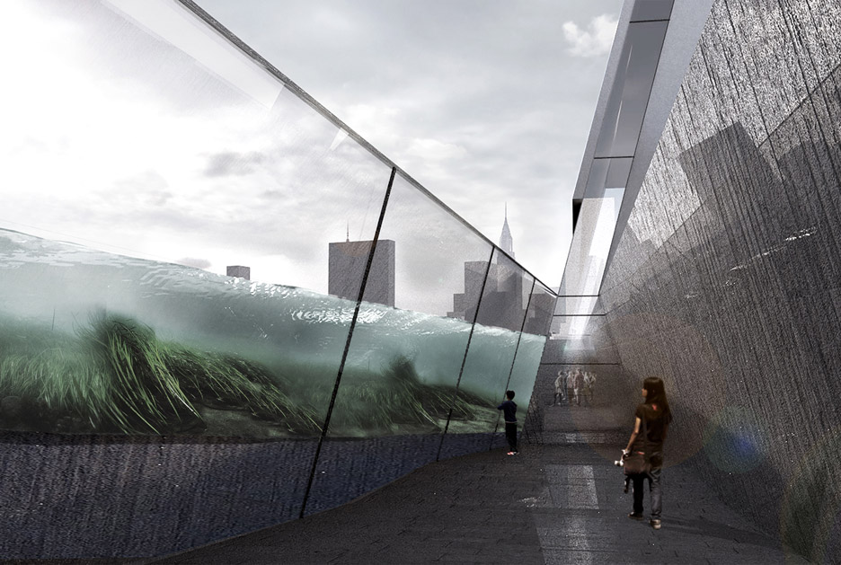 Aquarium concept competition for New York City win by Piero Lissoni