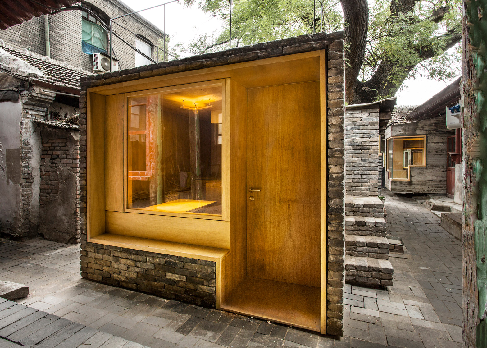 Micro Yuan'er, Beijing, China; by ZAO/standardarchitecture/Zhang Ke