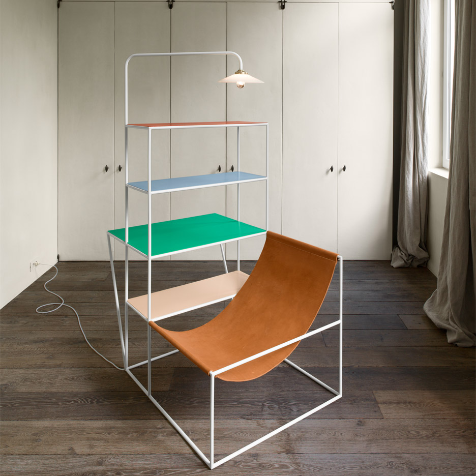 Muller van Severen furniture design at The Apartment in Copenhagen, Denmark