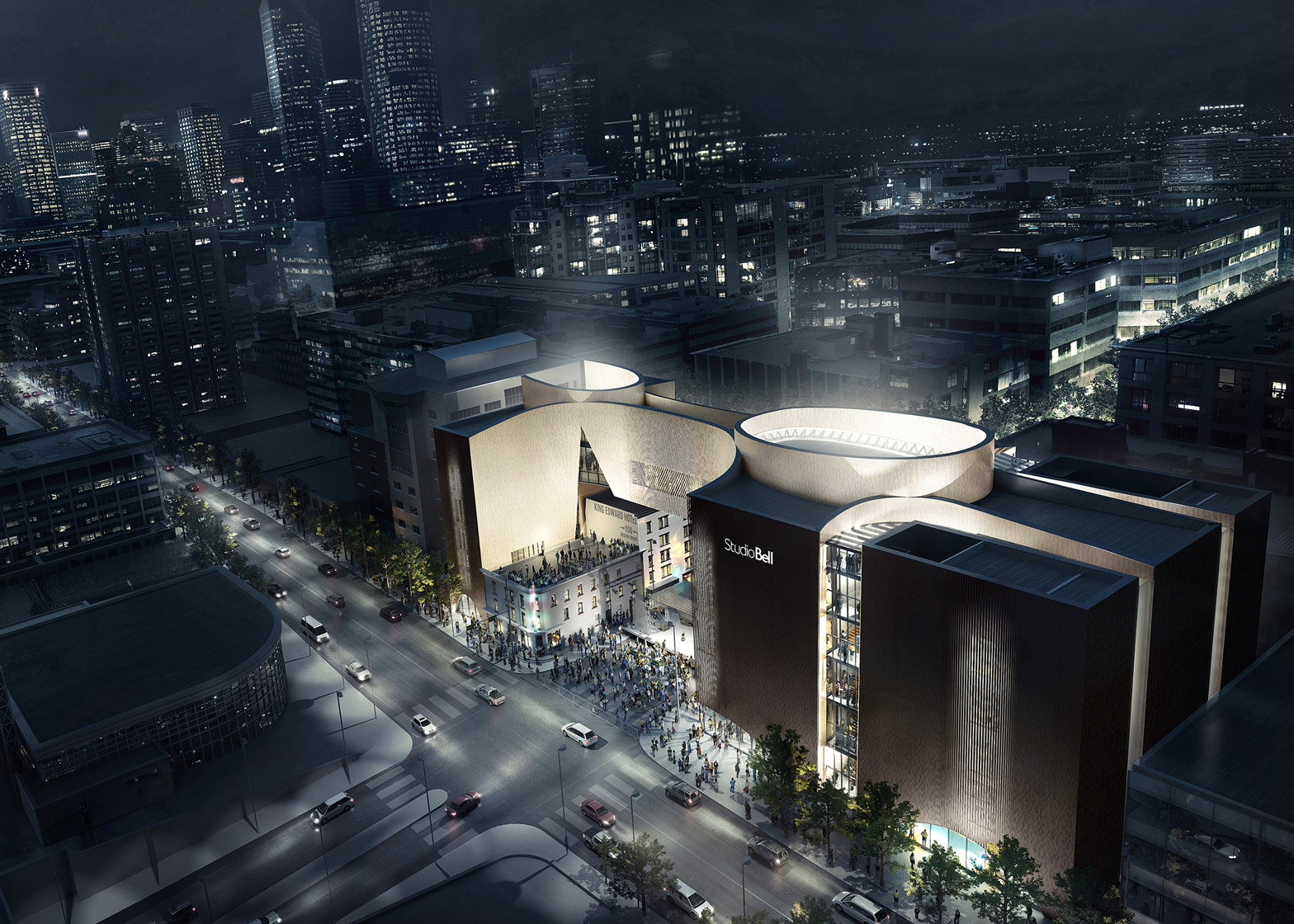 National Music Centre in Calgary, Canada by Allied Works. Image by Mir