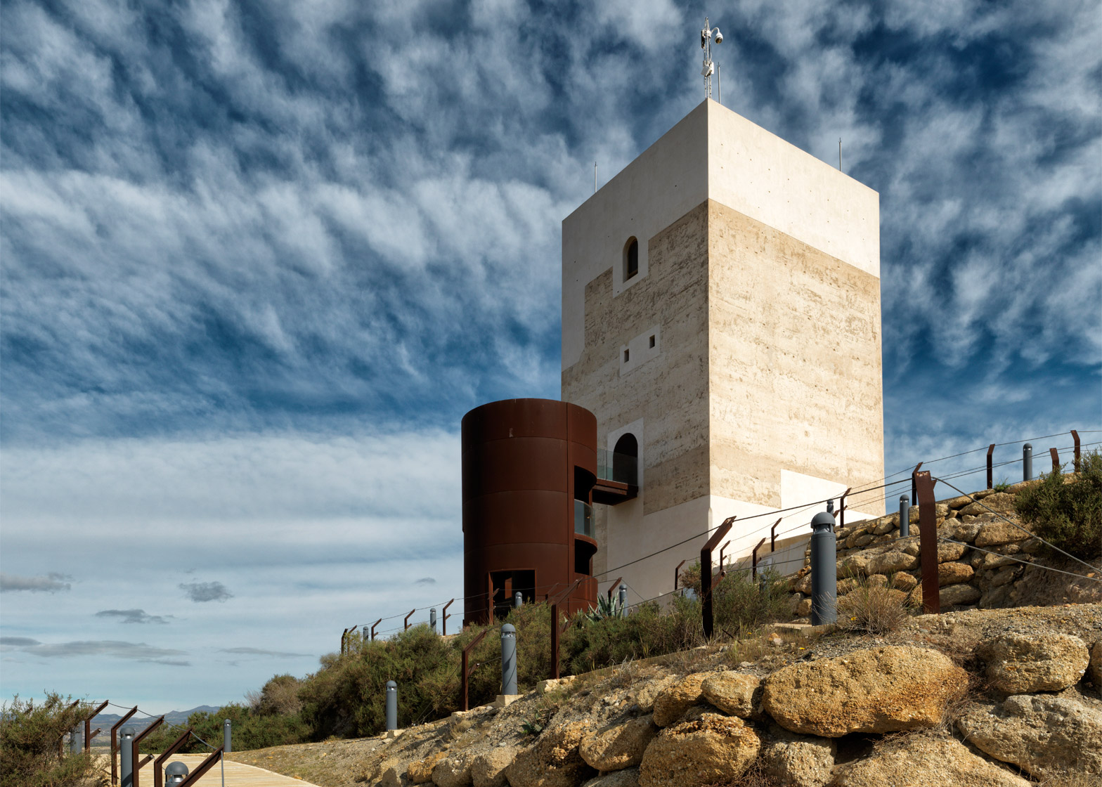 Nasrid Tower Restoration, Huercal-Overa, Spain; by Castillo Miras Arquitectos