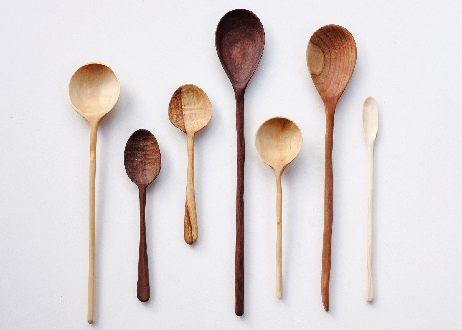 Carved spoons by Forest and Found