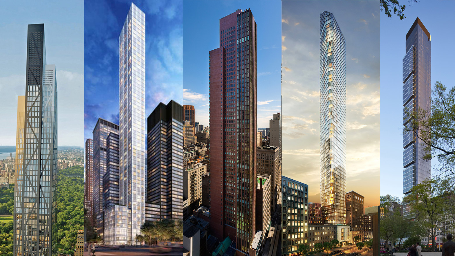 New York\'s skyscrapers are taller and skinnier than ever before