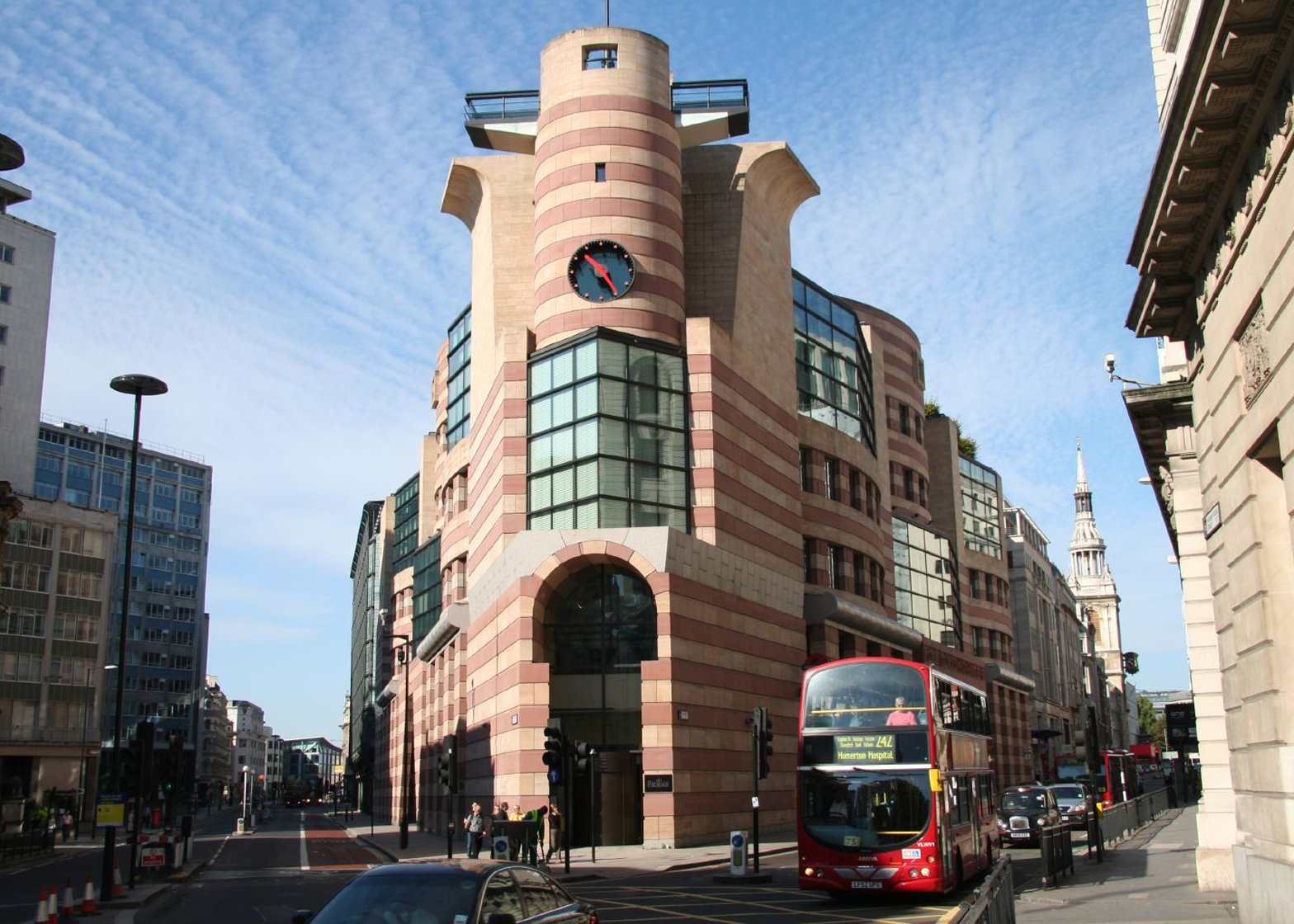 No 1 Poultry by James Stirling