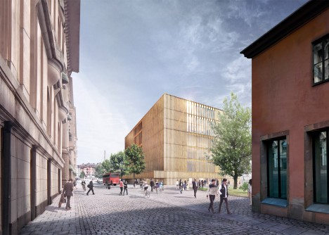 David Chipperfield further develops Nobel Center design for public presentation