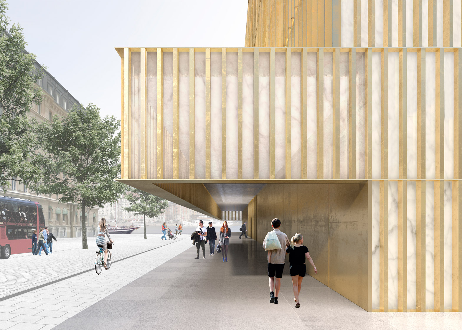 Nobel Center by David Chipperfield
