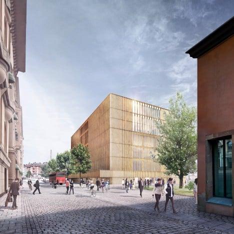 David Chipperfield further develops Nobel Center design for public presentation