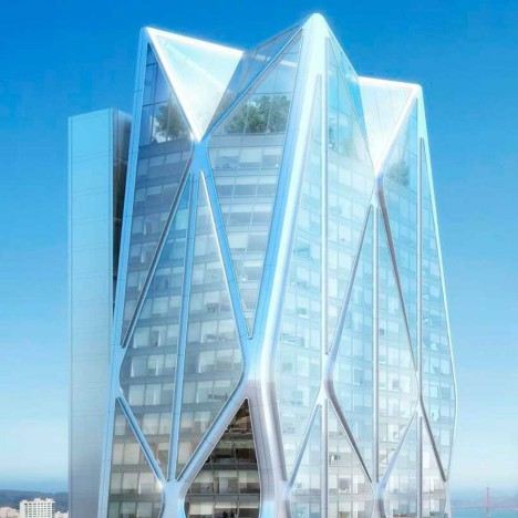 Foster + Partners gets go ahead for crystalline skyscraper in San Francisco