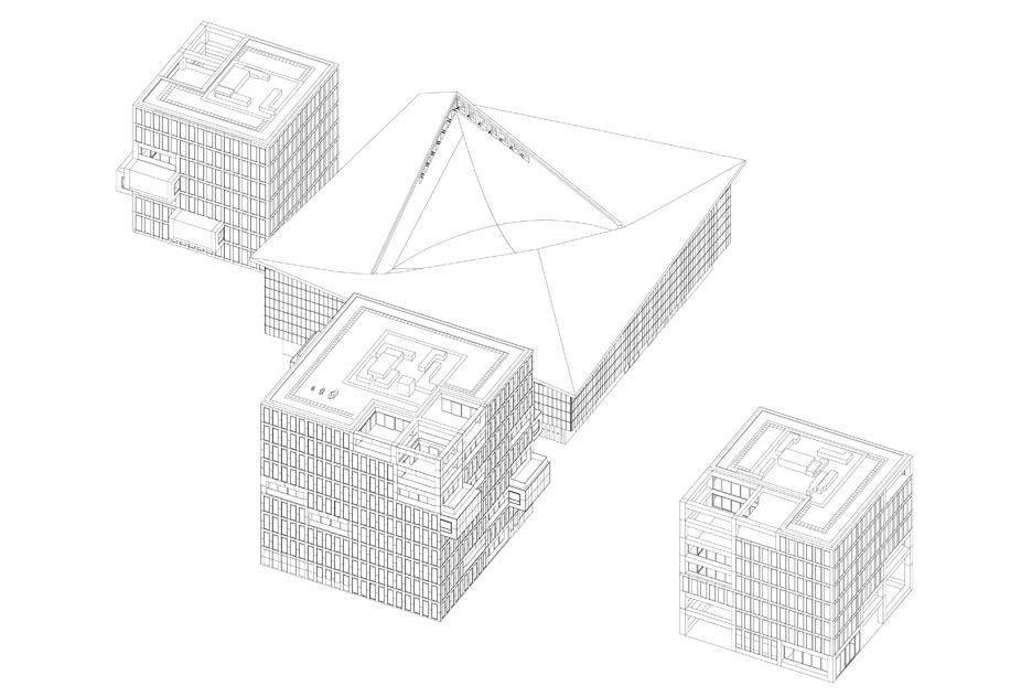 OMA Holland Green housing diagram