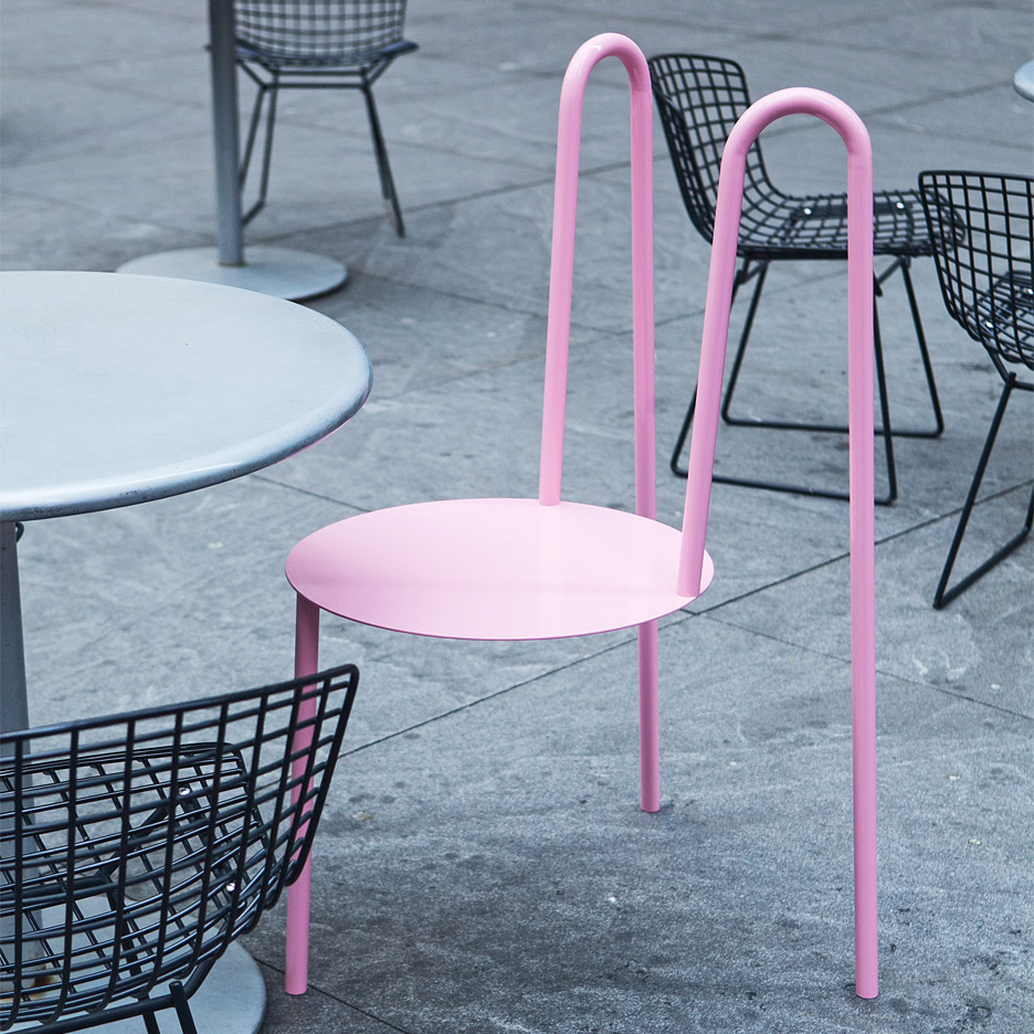 Outdoor furniture by Crosby Studios for New York Design Week 2016