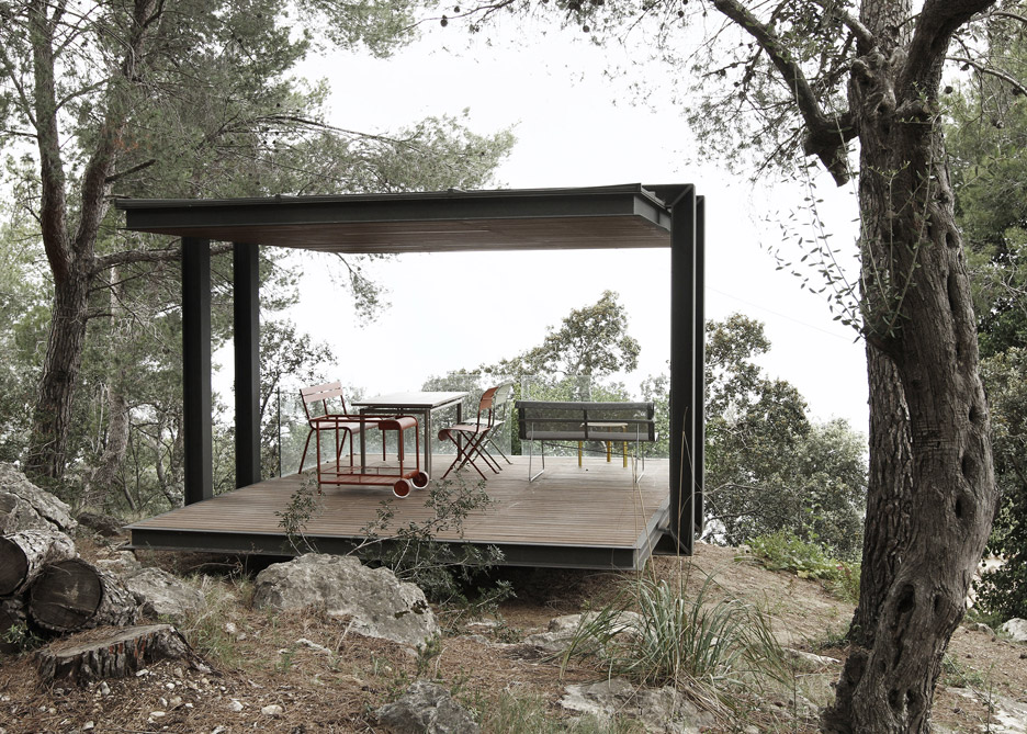 Spain pavilion viewpoint by Philipp Bretschneider of H5 Architekten in Mallorca, Spain