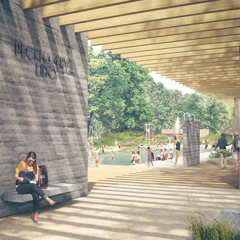 Peckham Lido by Studio Octopi
