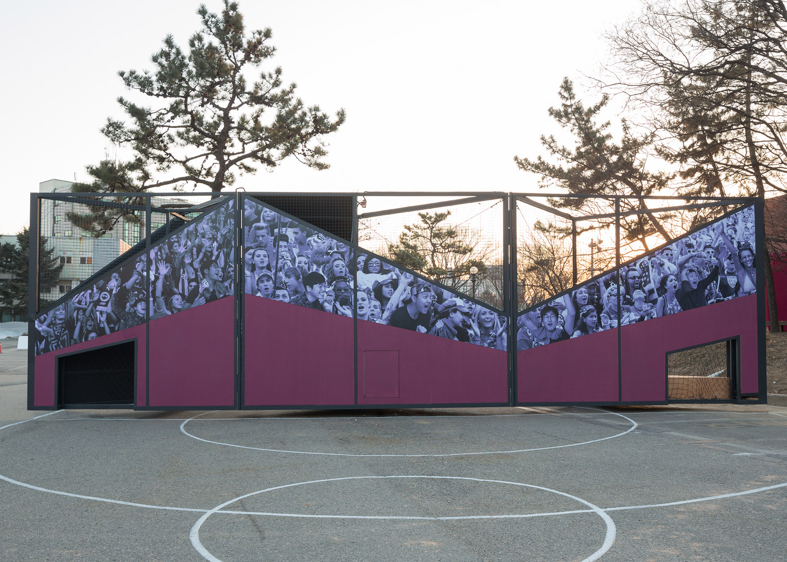 Undefined playground structure designed by B.U.S Architects in South Korea