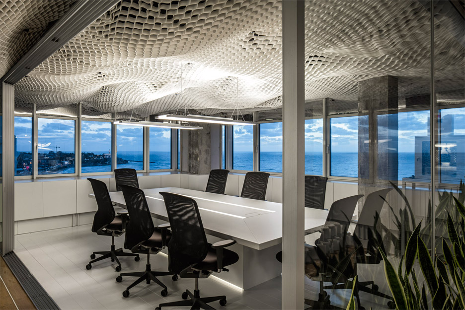 PRS office interior in Tel Aviv, Israel by Paritzki & Liani Architects