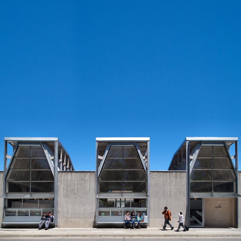Public Library of Constitucion, Constitucion, Chile, by Sebastian Irarrazaval Arquitectos