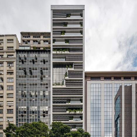 Triptyque overhauls 1970s office tower in Rio to make it more environmentally friendly