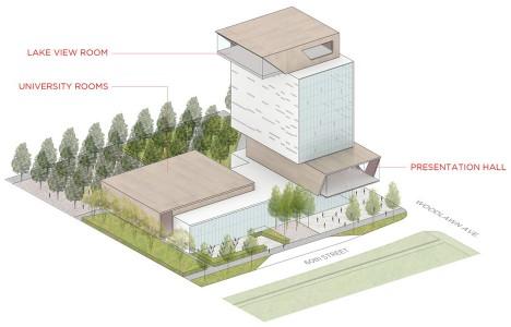Diller Scofidio + Renfro unveils forum building for University of Chicago campus