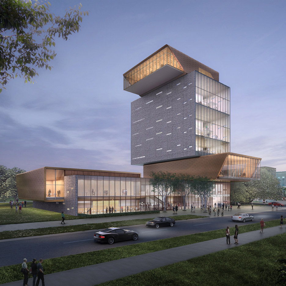 Diller Scofidio + Renfro unveils forum building for University of Chicago campus