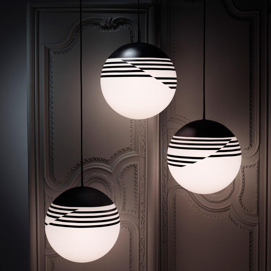 Optical lighting by Lee Broom