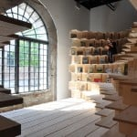 Dekleva Gregorič transforms Slovenian Pavilion into cocooning library dedicated to home design