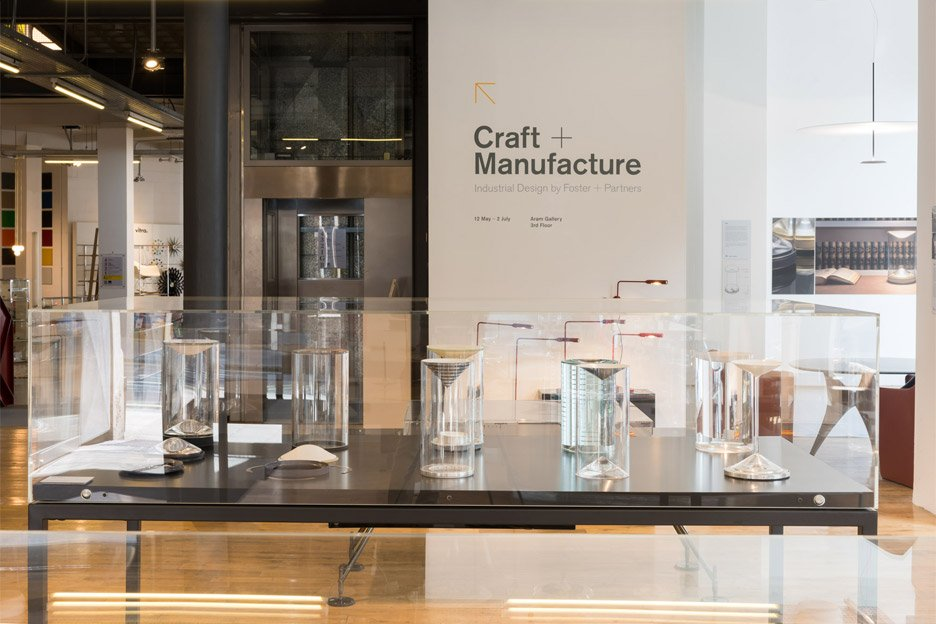 Craft + Manufacture: A Foster + Partners retrospective at the Aram Gallery in London, UK