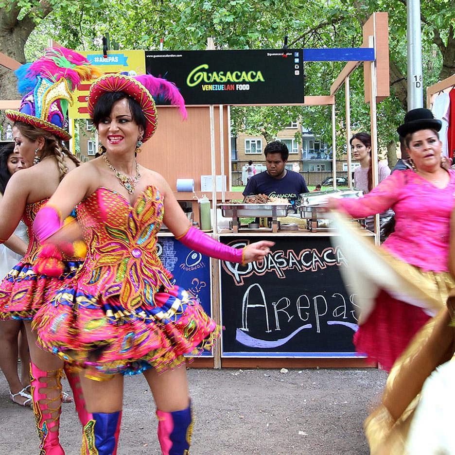 Studio Gil and Carnival del Pueblo: The Latin Corridor