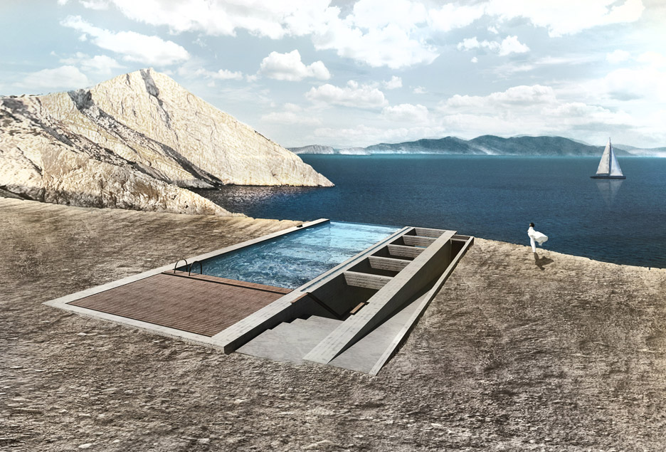 Casa Brutale cliff residence by OPA gets go ahead for construction in Lebanon
