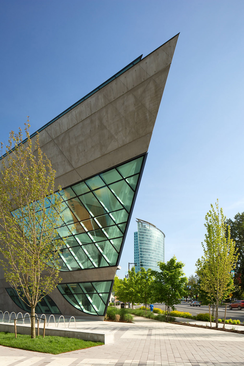 Surrey Library by Bing Thom