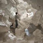 "Christian Kerez creates cavernous cloud to offer ""a pure encounter with architecture"""