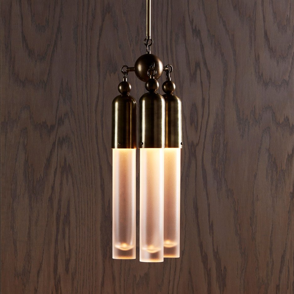 Tassel pendant by Apparatus