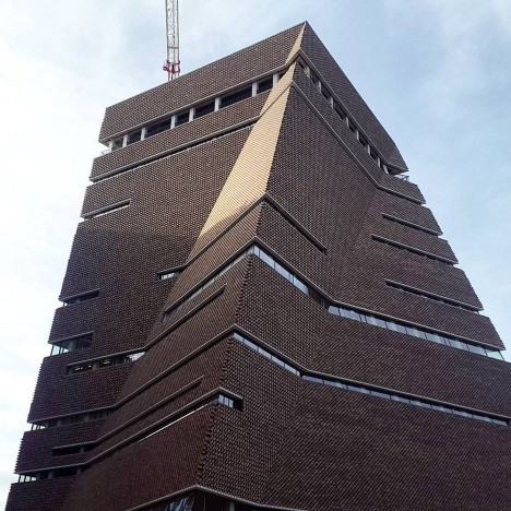 Herzog & de Meuron's Tate Modern extension nears completion