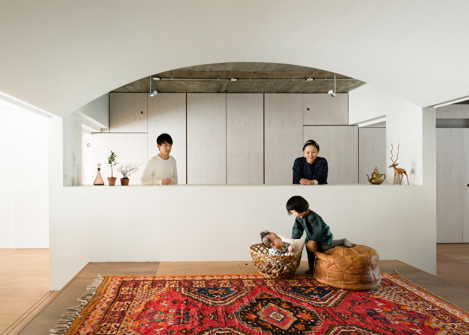 12 Of 12; Team Living House By Masatoshi Hirai Architects Atelier, An Apartment  Interior Renovation In Tokyo,